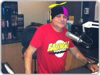 Rich at Radio 99.7