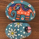 Happy Rocks – Elephant and Beetle