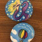 Happy Rock – Mermaid and Hot Air Balloon